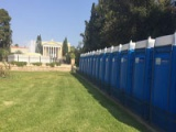At Zappeion for the Marathon Run